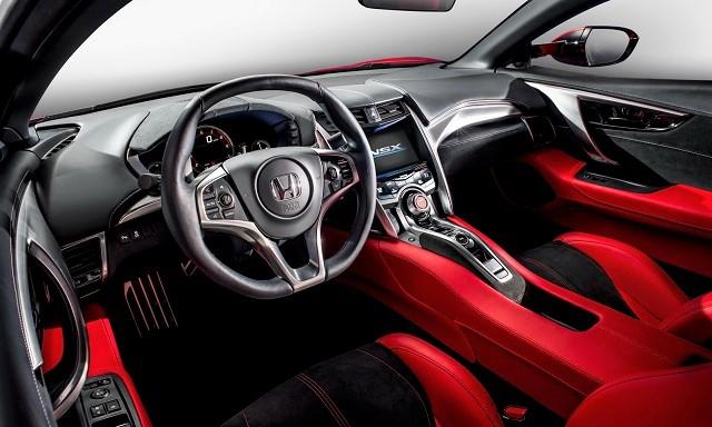 2016 Honda NSX Interior  Autoworldcommy