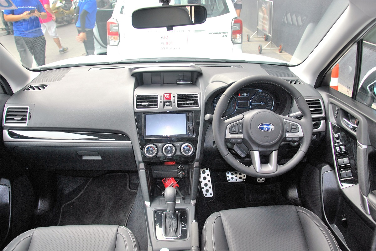2016 subaru forester launched in thailand expected in malaysia in april. Black Bedroom Furniture Sets. Home Design Ideas