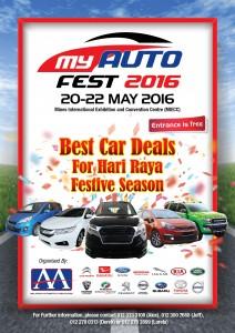 My Auto Fest poster