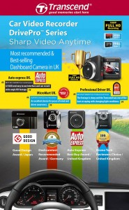 Transcend DrivePro Car Video Recorders
