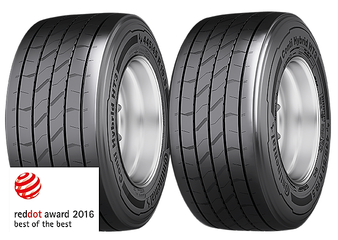 Continental Conti Hybrid HT3 Tyre Red Dot Design Award 2016 - Malaysia