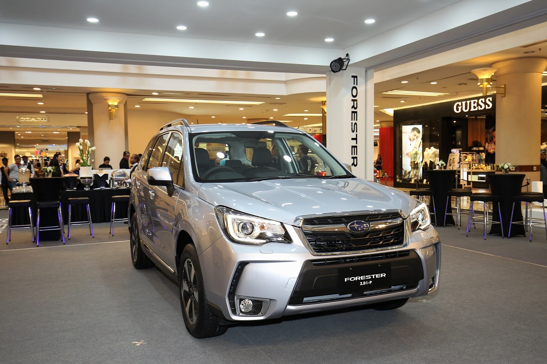 Test Drive Review Subaru Forester 2 0i P