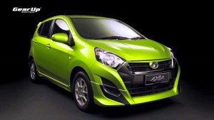 Perodua Axia Gear Up Green