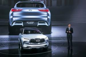 Roland Krueger, Infiniti QX Sport Inspiration 2016 Beijing Auto Show