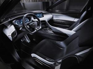 Infiniti QX Sport Inspiration Interior 2016 Beijing Auto Show