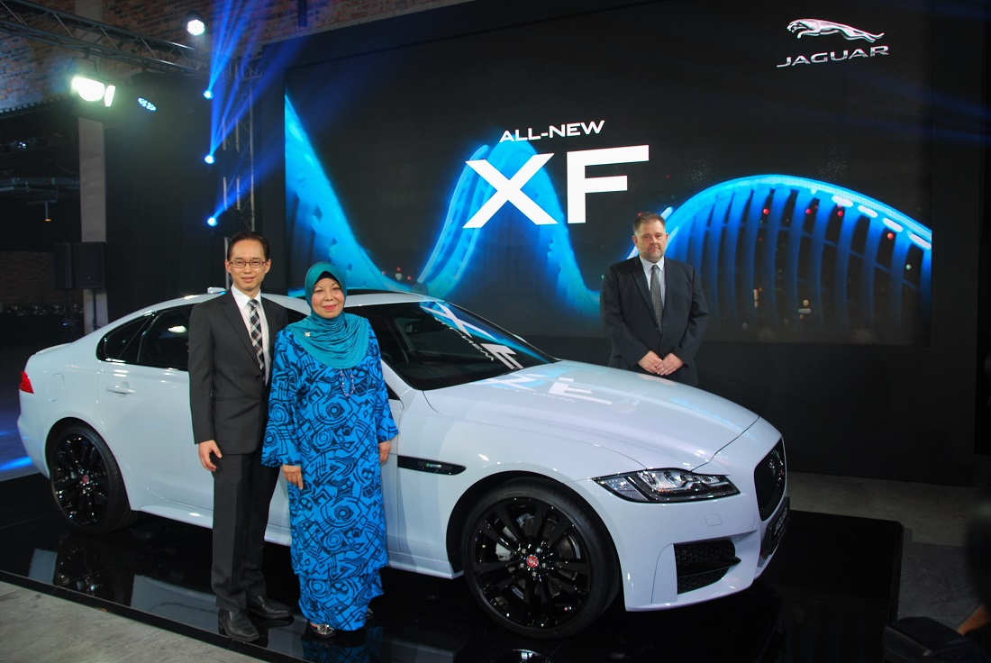 AllNew Jaguar XF Launched In Malaysia Autoworldcommy - All jaguar