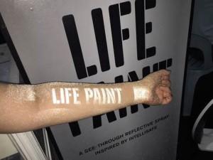 Volvo Life Paint Under Flash