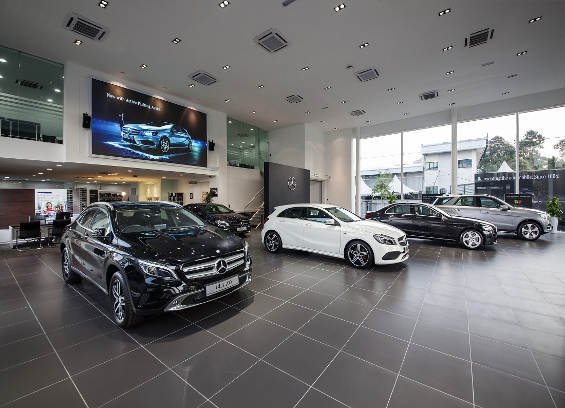First mercedes benz city service opens in kuala lumpur for Mercedes benz repairs