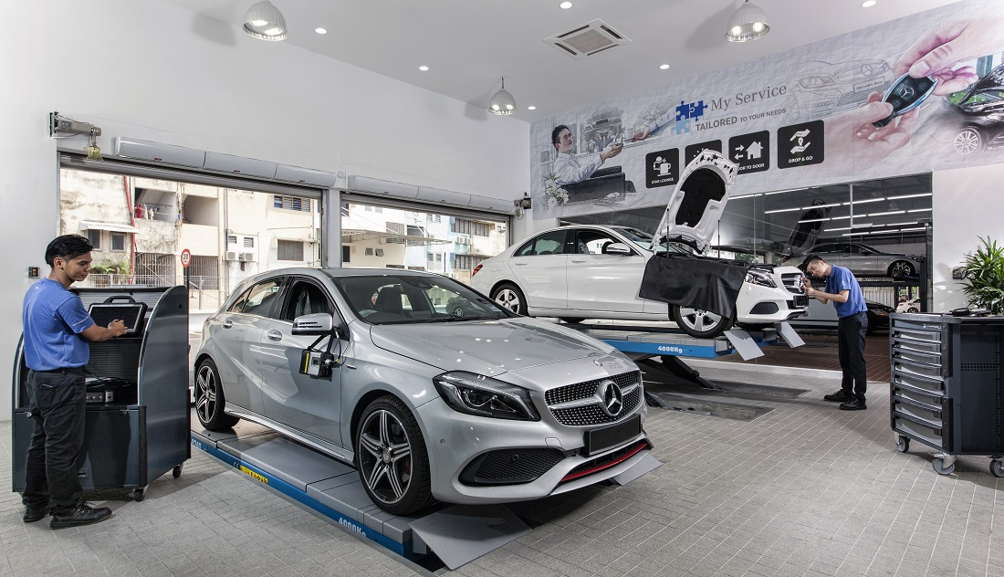 First mercedes benz city service opens in kuala lumpur for Mercedes benz cutler bay service