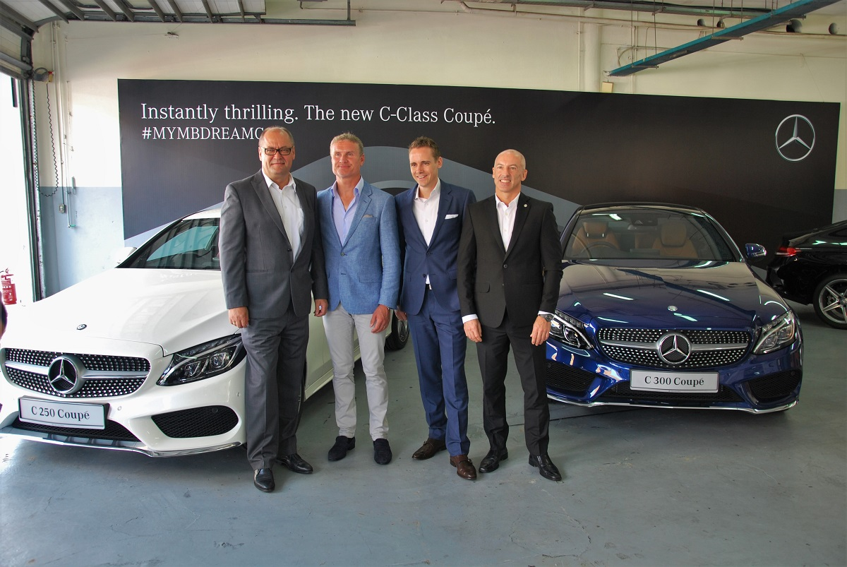 Mercedes Benz Malaysia Adds C Cl Coupe To Dream Cars Collection