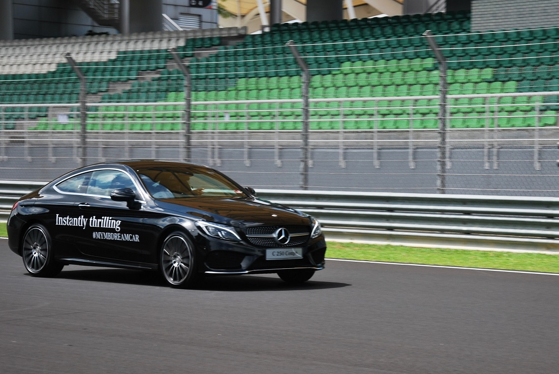 Mercedes benz malaysia adds c class coupe to dream cars for Mercedes benz collection