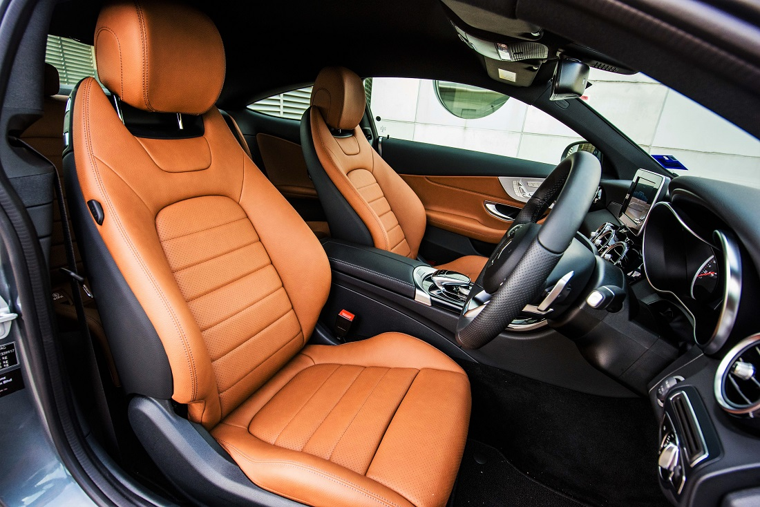 Mercedes benz malaysia adds c class coupe to dream cars collection - Mercedes benz c class coupe interior ...