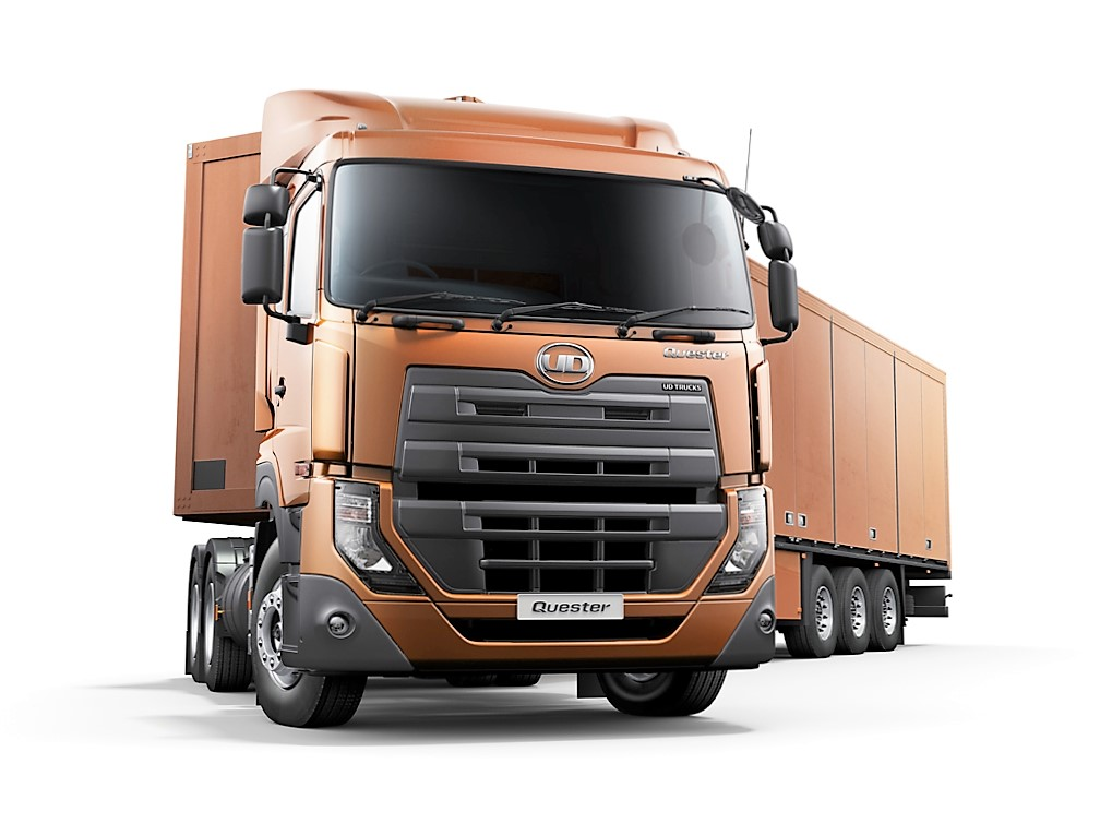 UD Trucks  Quester Driving Experience