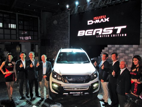 Isuzu Malaysia Breaks Out The D-Max Beast