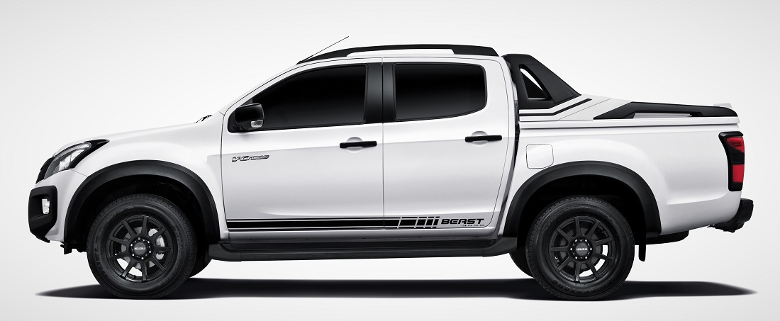 Isuzu D Max Beast White on Toyota Headlights Recall