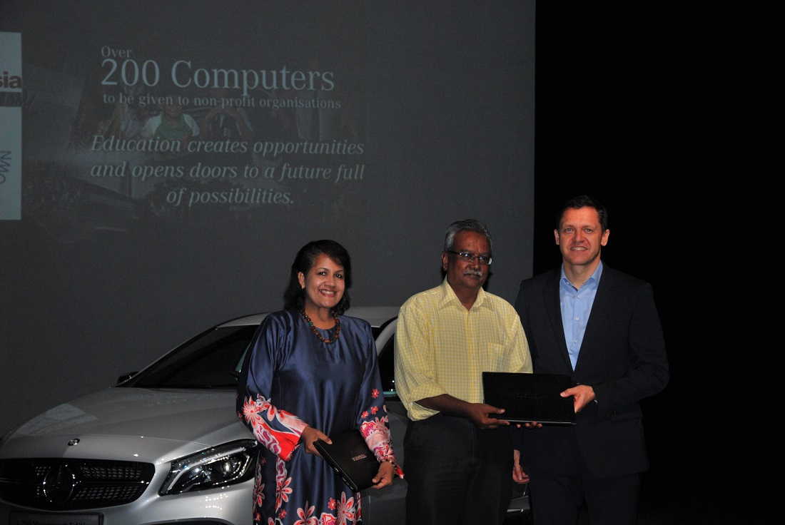 Mercedes benz malaysia invests in the future with csr for Mercedes benz training and education