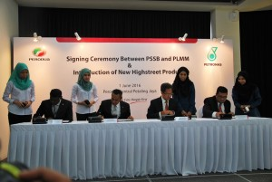 Perodua-Petronas Signing Ceremony