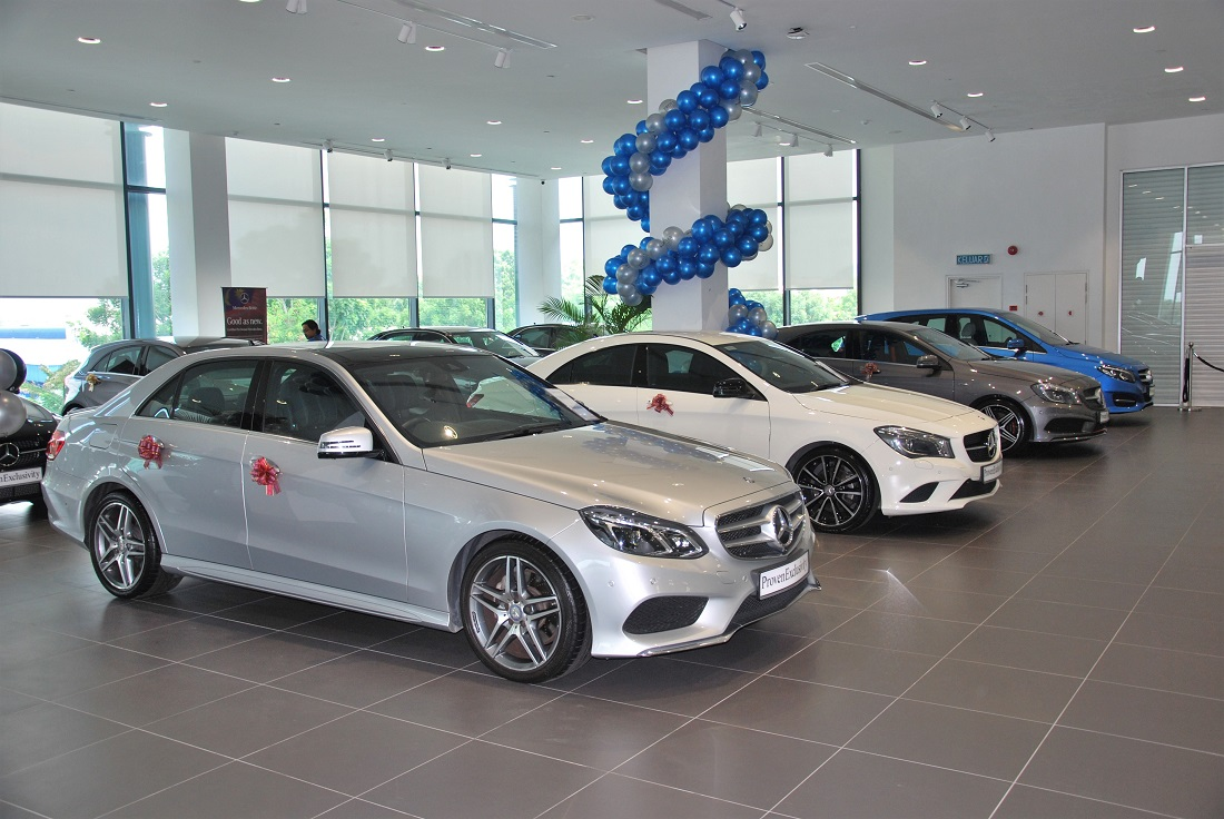 Pre owned mercedes benz centre at hap seng star balakong for Mercedes benz prepaid maintenance