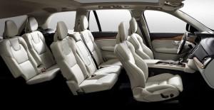 Volvo XC90 Plug-In Hybrid Interior Seats