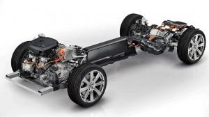 Volvo XC90 Plug-In Hybrid Powertrain