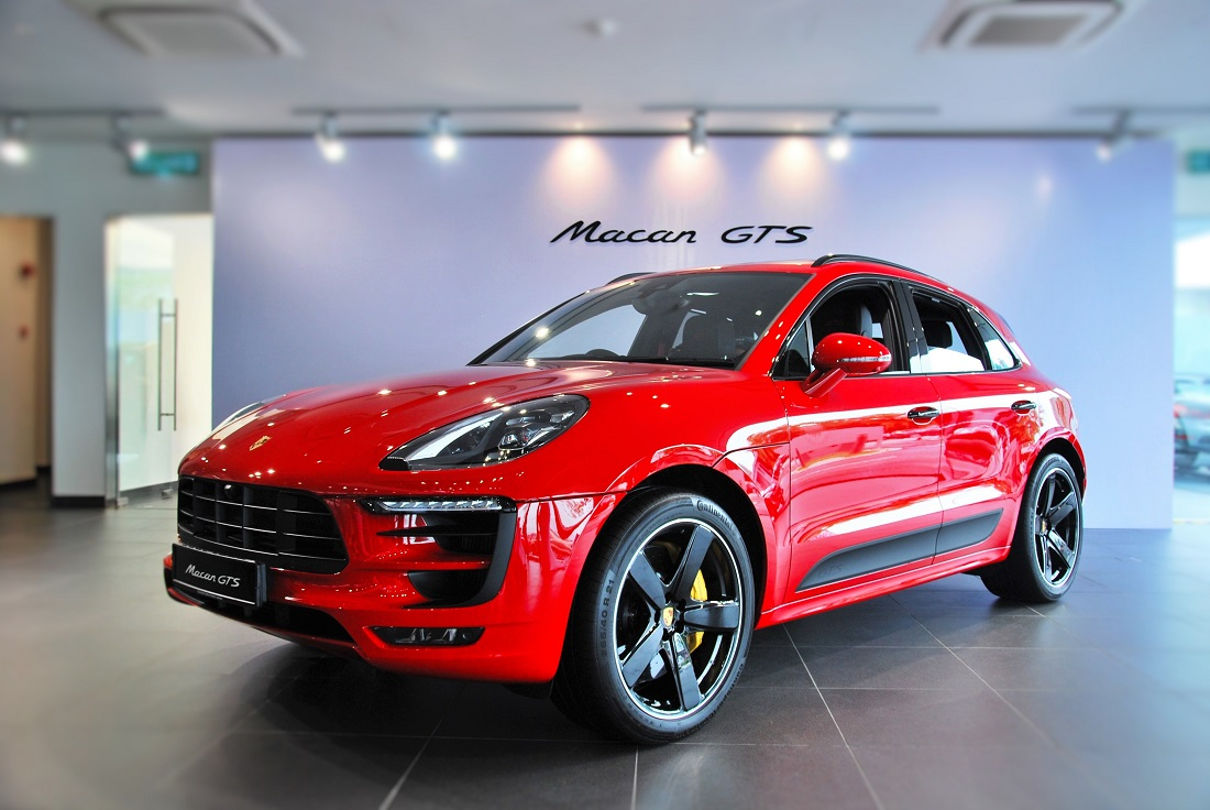 porsche macan gts debuts in malaysia. Black Bedroom Furniture Sets. Home Design Ideas