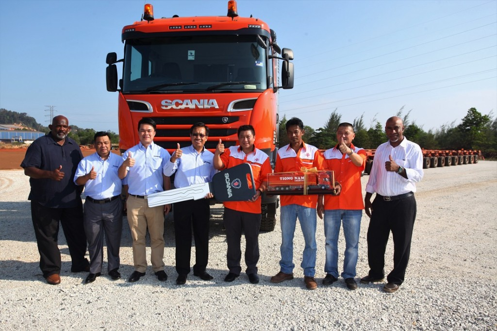 Scania - Tiong Nam Heavy Transport And Lifting