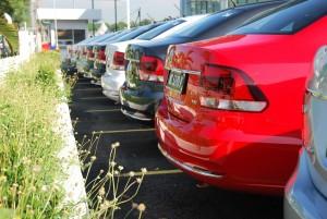 VW Vento Highline Rear
