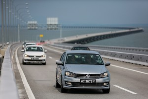 VW Vento Highline Penang Bridge
