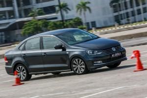 VW Vento Highline Malaysia Drive