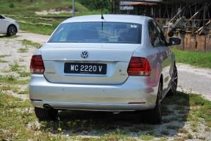 VW Vento Highline Rear Malaysia