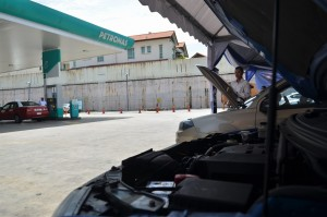 Proton Free Safety Check At Petronas Stations