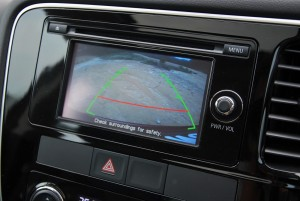 Mitsubishi Outlander Reverse Camera View