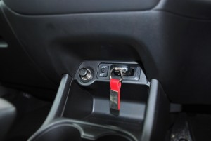 Mitsubishi Outlander Key Slot
