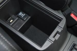 Mitsubishi Outlander Armrest Storage