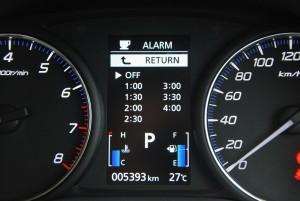 Mitsubishi Outlander Rest Alarm