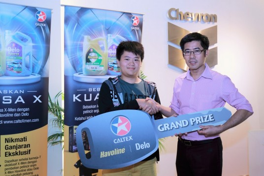 Chevron 'Release The Power Of X' Promotion Grand Prize Winner Announced
