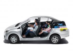 Perodua Bezza 5-passenger Mode
