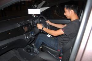 Perodua Bezza Front Seat