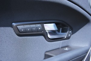 Range Rover Evoque Front Seat Memory Buttons
