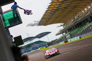Lamborghini Blancpain Super Trofeo Asia Sepang checkered flag - Copy