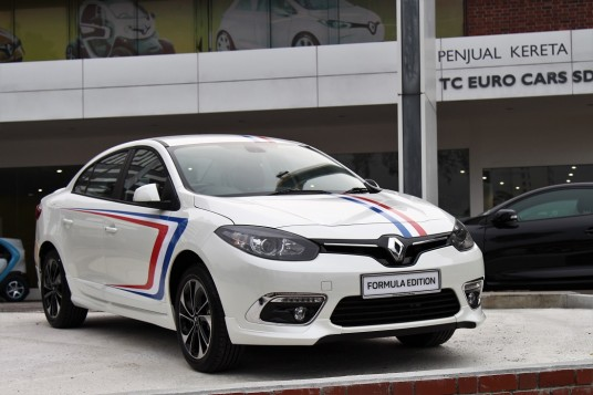 Renault Introduces Fluence Formula Edition