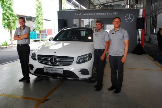 Locally Assembled Mercedes-Benz GLC 250 Introduced
