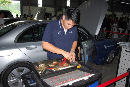 2016 Mercedes-Benz Malaysia Skills Competition