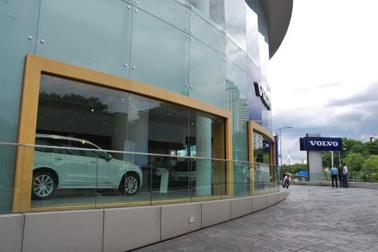 New Volvo Showroom In Kuala Lumpur