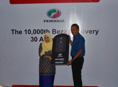 Perodua Delivers Its 10,000th Bezza