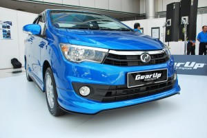 Perodua Bezza Gear Up Accessories