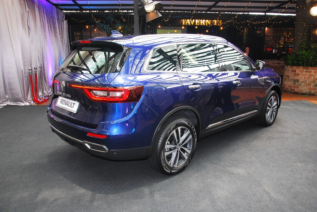 renault koleos suv now available in showrooms. Black Bedroom Furniture Sets. Home Design Ideas