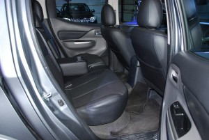Mitsubishi Triton MIVEC Rear Seats