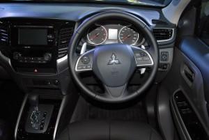 Mitsubishi Triton MIVEC Steering