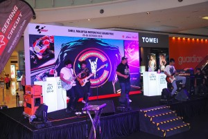 One Buck Short Performing At The Malaysia MotoGP Launch In Nu Sentral